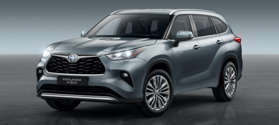 TOYOTA TO LAUNCH ALL NEW 7-SEATER HIGHLANDER IN IRELAND
