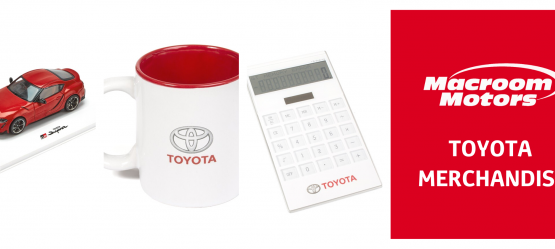 New Toyota Merchandise Collection